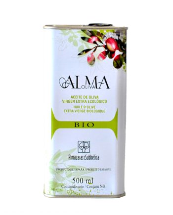 Almaoliva BIO, bidon 500 ml, Extra Vierge Bio