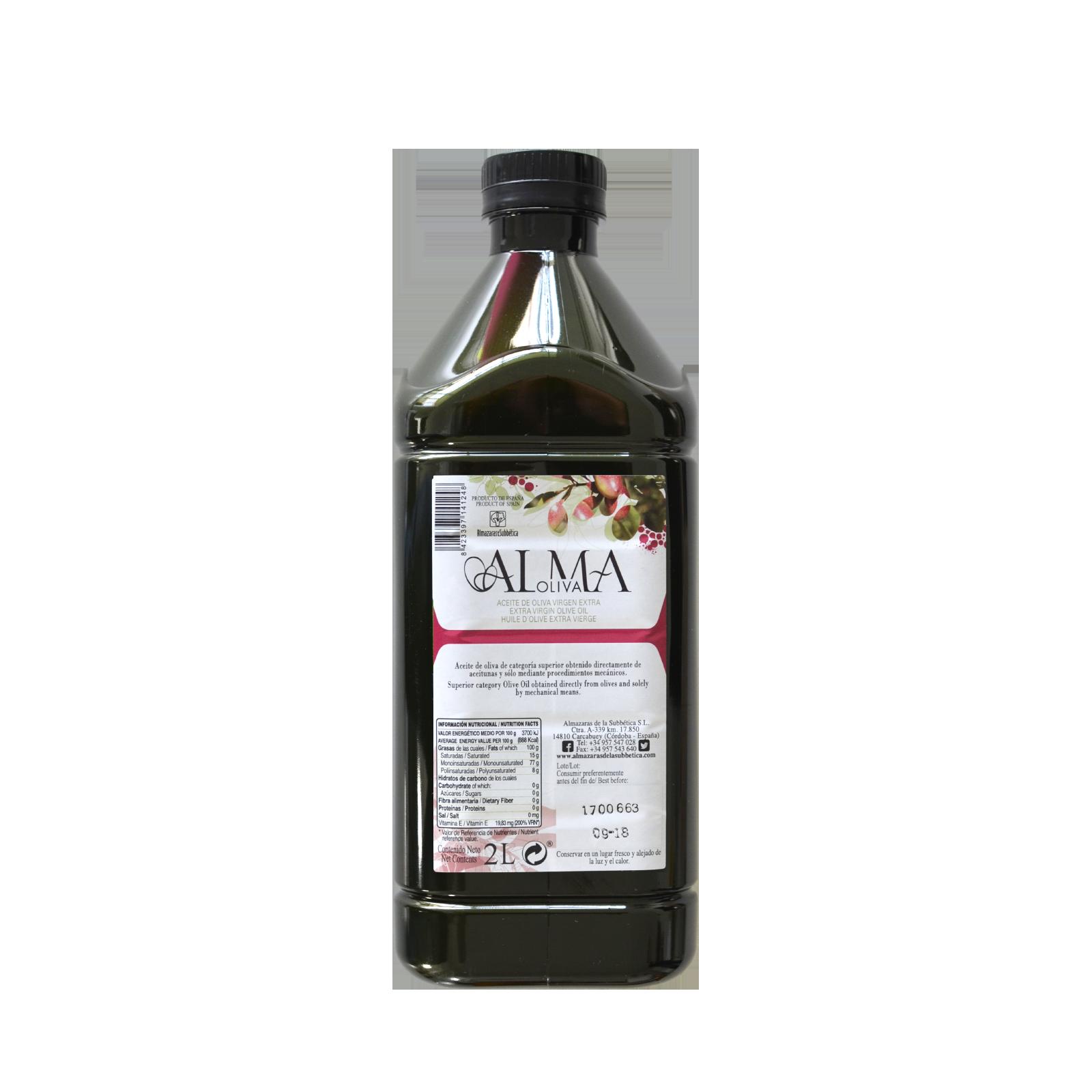 Almaoliva Extra Vierge spécial gastronomie 2 litres